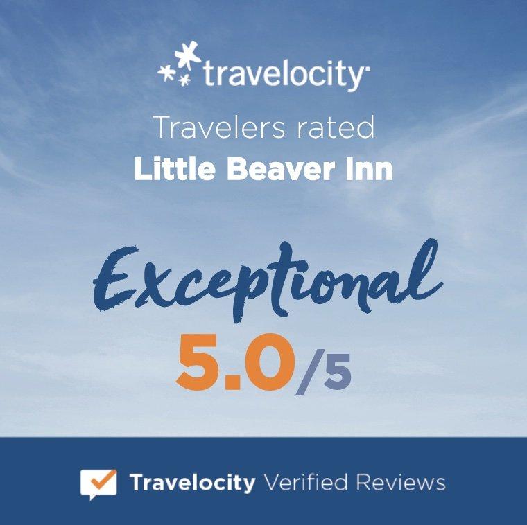Little Beaver Inn - Exceptional 5/5 Travelocity Reviews